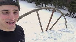 DIY Snowboard Rail: Stay at Home mit Dakine Teamrider Louif Paradis