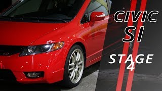 Honda Civic Si K20 Stage 4 - Cars Projects - Que Ronco!!!