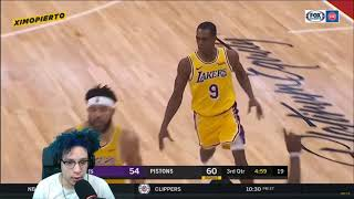 CAN THE LAKERS WIN WITHOUT LEBRON?! LA Lakers vs Detroit Pistons - Full Game Highlights REACTION