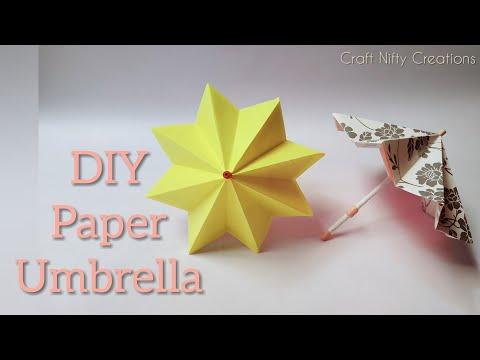 DIY Paper Umbrella   Craft Nifty Creations