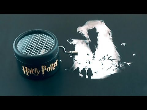 Caja musical de Harry Potter