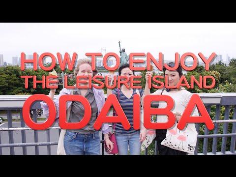 How to enjoy the Japanese leisure island Odaiba!