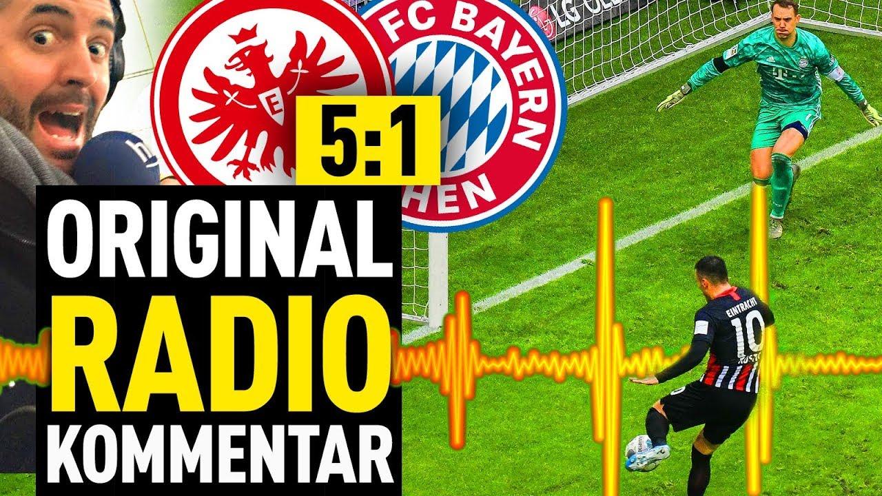 Eintracht Frankfurt Fc Bayern Alle Tore Mit Original Radio Kommentar Fussball 2000