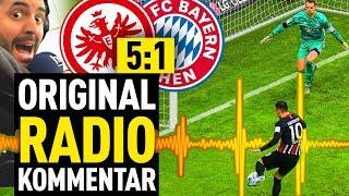 Eintracht Frankfurt - FC Bayern: alle Tore mit original Radio-Kommentar!