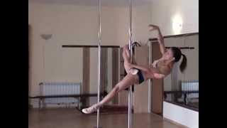 "Pole dance. Уроки танцев. Элемент ""Rainbow"" (""Радуга"")"