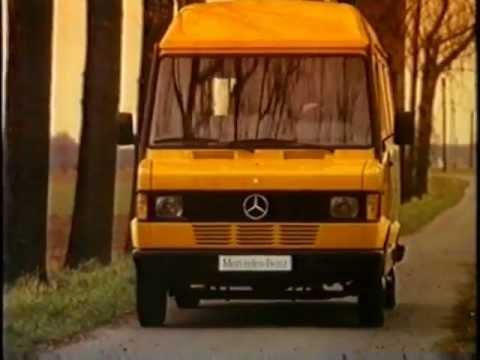 mercedes transporter werbung 1991 youtube. Black Bedroom Furniture Sets. Home Design Ideas