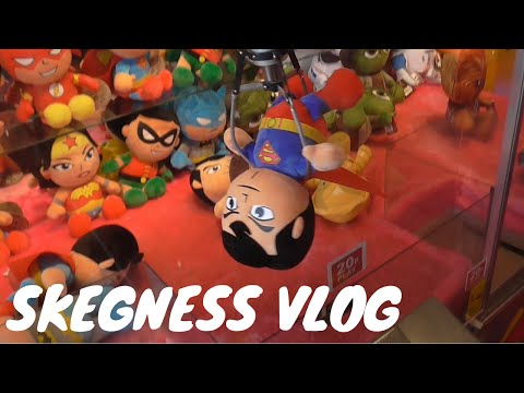 SKEGNESS | BEACH & ARCADES | FAMILY VLOG