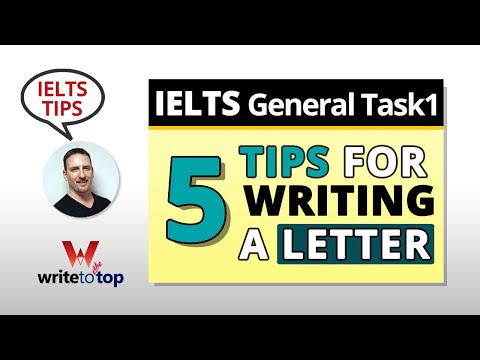 5 Tips For Writing A Letter— IELTS General Task 1