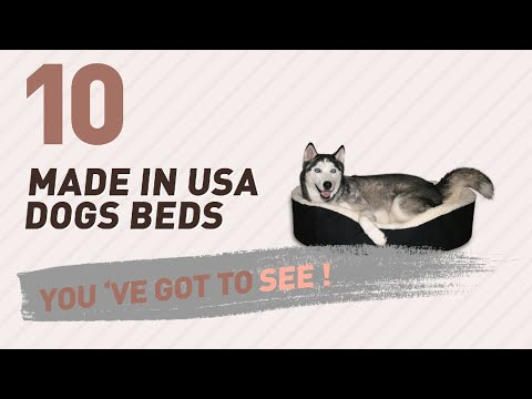 Made In Usa Dogs Beds // Pets Lover Channel Presents: