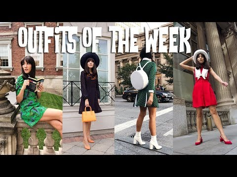 Outfits Of The Week – Spring to Fall Transition | Carolina Pinglo