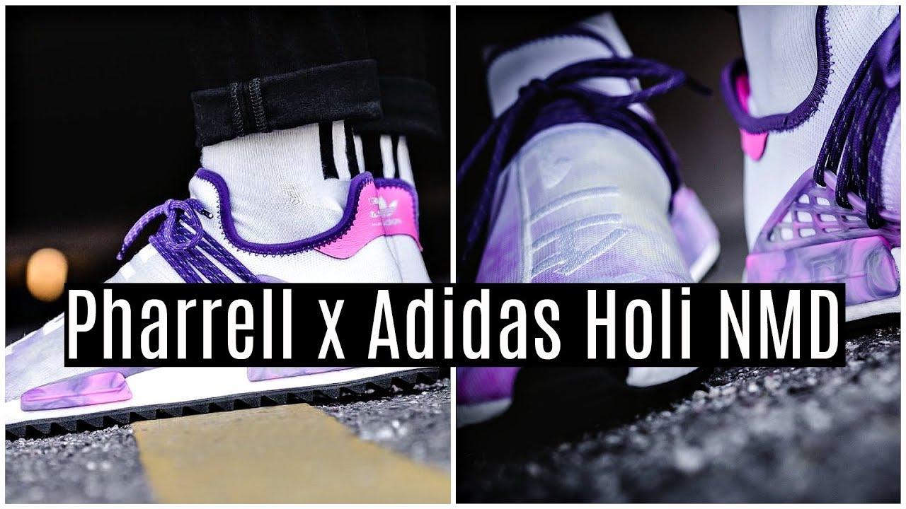 cheap for discount af9d1 6f53b Pharrell x Adidas PW HU Holi NMD
