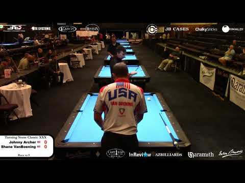Turning Stone Classic XXX - Hotseat - Johnny Archer vs Shane Van Boening