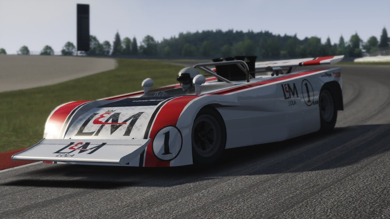 Assetto Corsa - Lola T260 CAN-AM + DOWNLOAD - YouTube
