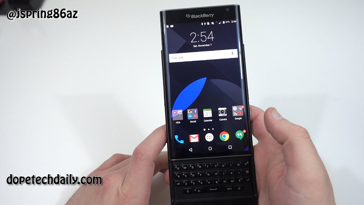 blackberry priv sverige