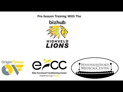 Highveld Lions Pre-Season Training