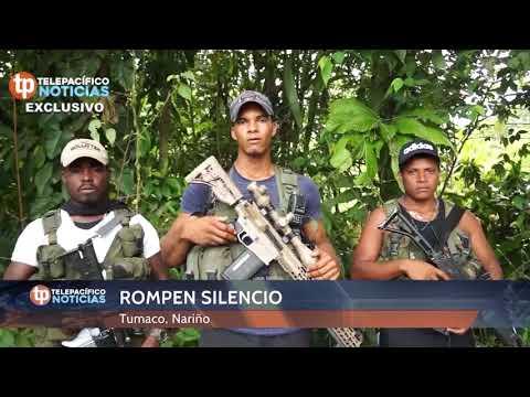 Exclusivo: Comandante disidencia FARC | Tumaco, Nariño  | Telepaífico Noticias