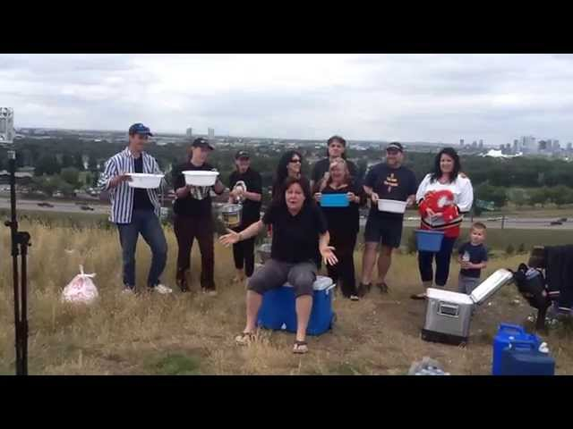 Netty Mac Nominates the Netty Mac Train ALS Ice Bucket Challenge