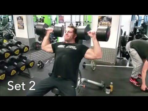 8x8 high volume intense workout | Vince Gironda