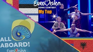 My Eurovision 2018 Top 43 After The Show (With Comments)