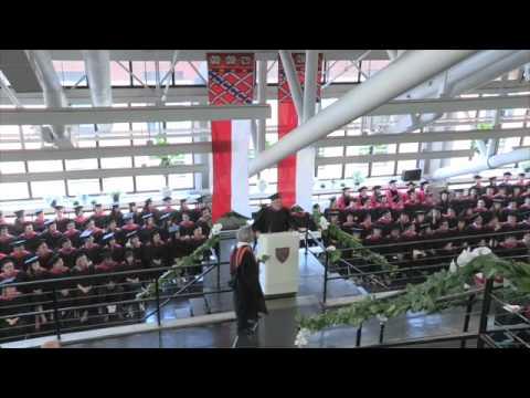 2012 Graduate School of Design Graduation Ceremony