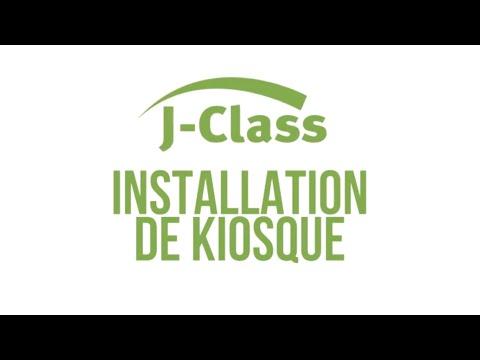 Installation de kiosque JClass - YouTube