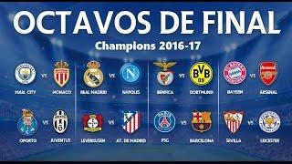 Los Mejores Goles De Los Octavos De Final (IDA)   Uefa Champions League 2016/2017