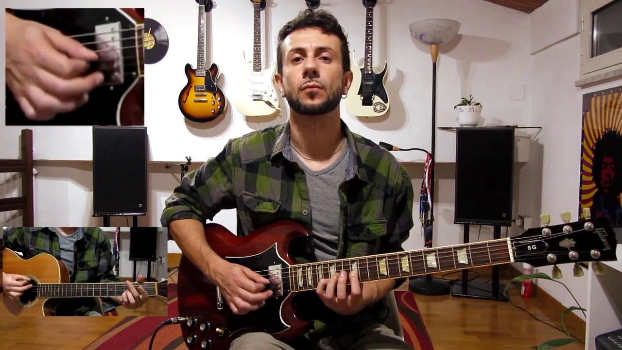 how to play paranoid android on guitar