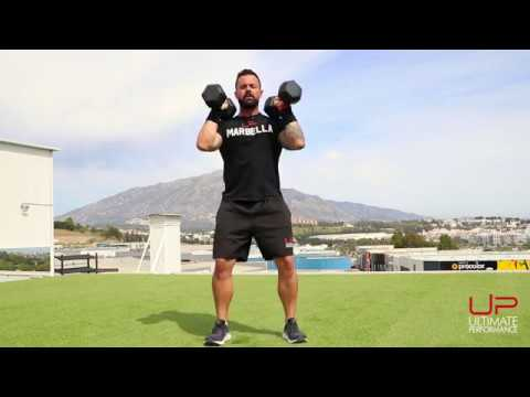 Dumbbell only complex 1  ||  5 exercise circuit