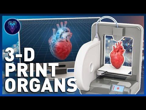 New 3D Printing Organs Technology