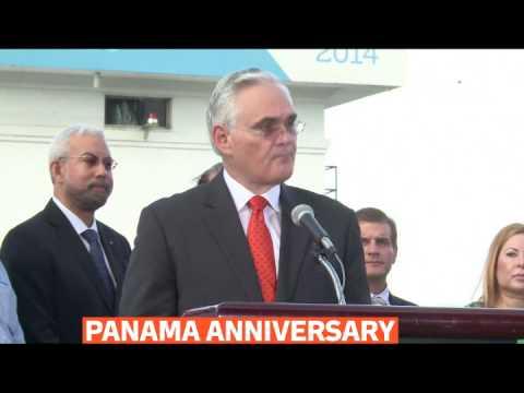 mitv - Panama Canal marks 100th anniversary