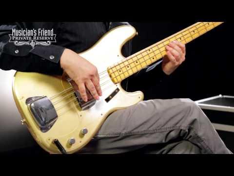 Fender Custom Shop 1957 Precision Bass Relic Electric Bass Guitar Masterbuilt by Dale Wilson
