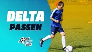 Fussballtraining: Delta - Passen - Technik