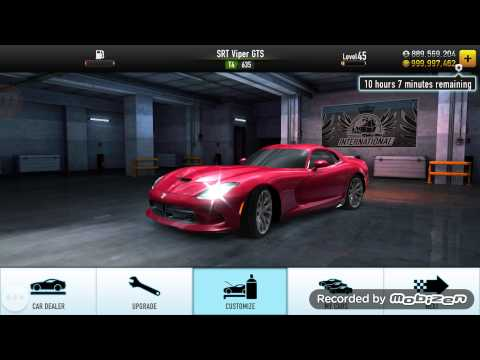 CSR RACING UNLIMITED CASH & GOLD