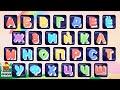 Алфавит для детей   Азбука пазлы   Учим буквы   Развивающие мультики игры   Весёлые КиНдЕрЫ