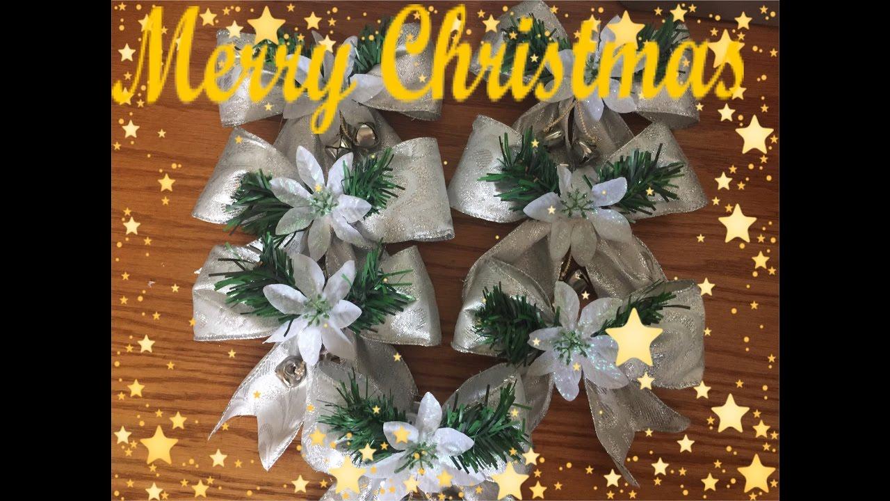 Manualidades navide as de lazo para el arbol de navidad for Arboles de navidad manualidades navidenas