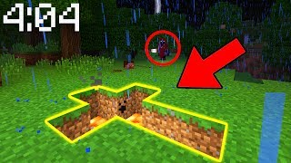 Do NOT Play Minecraft Pocket Edition at 4:04 AM!!!