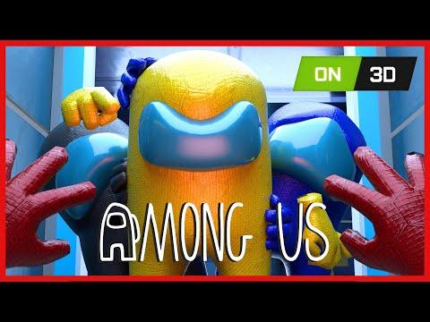 AMONG US 3D ANIMATION - THE IMPOSTOR LIFE