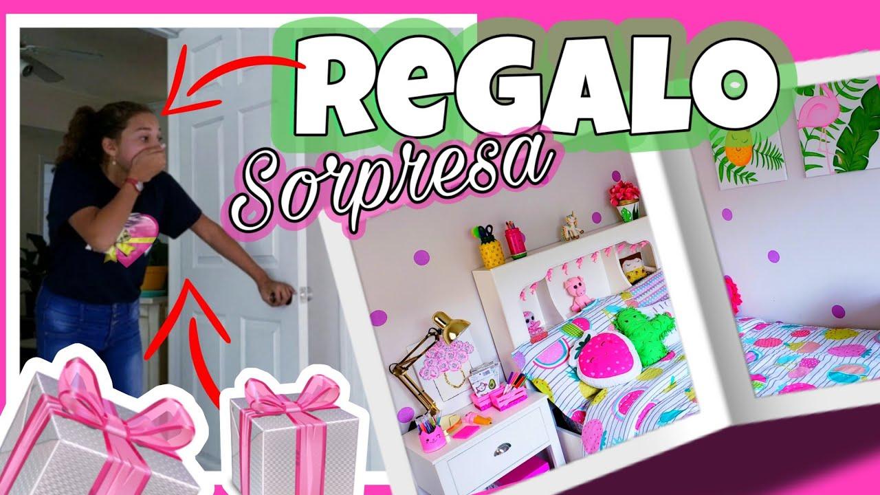El Mejor Regalo Sorpresa Para Mi Hija Room Decor Keiri Craft Youtube