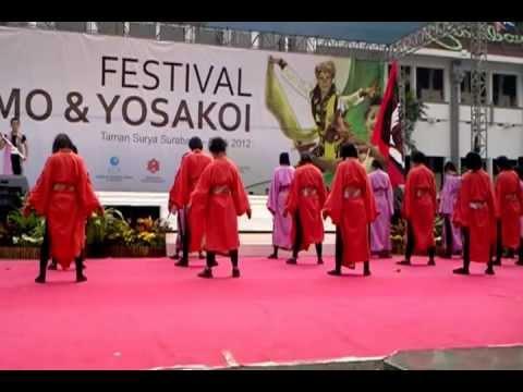 FESTIVAL YOSAKOI SURABAYA 2012 - UNIVERSITAS BRAWIJAYA