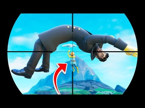 The LUCKIEST Plays EVER MADE On Fortnite