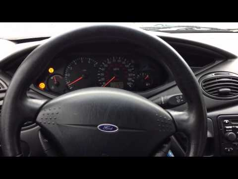 How To Fix 2001 Ford Focus SES Light