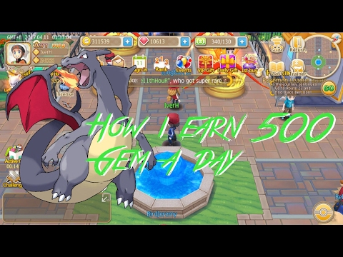 How to earn 500 gems a day! Monster Park/Hey Monster