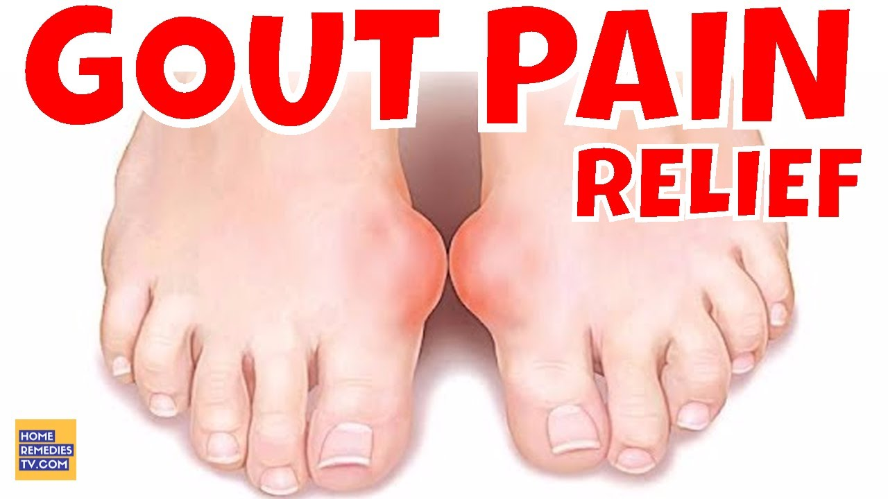 Treat Gout and Joint Pain At Home t