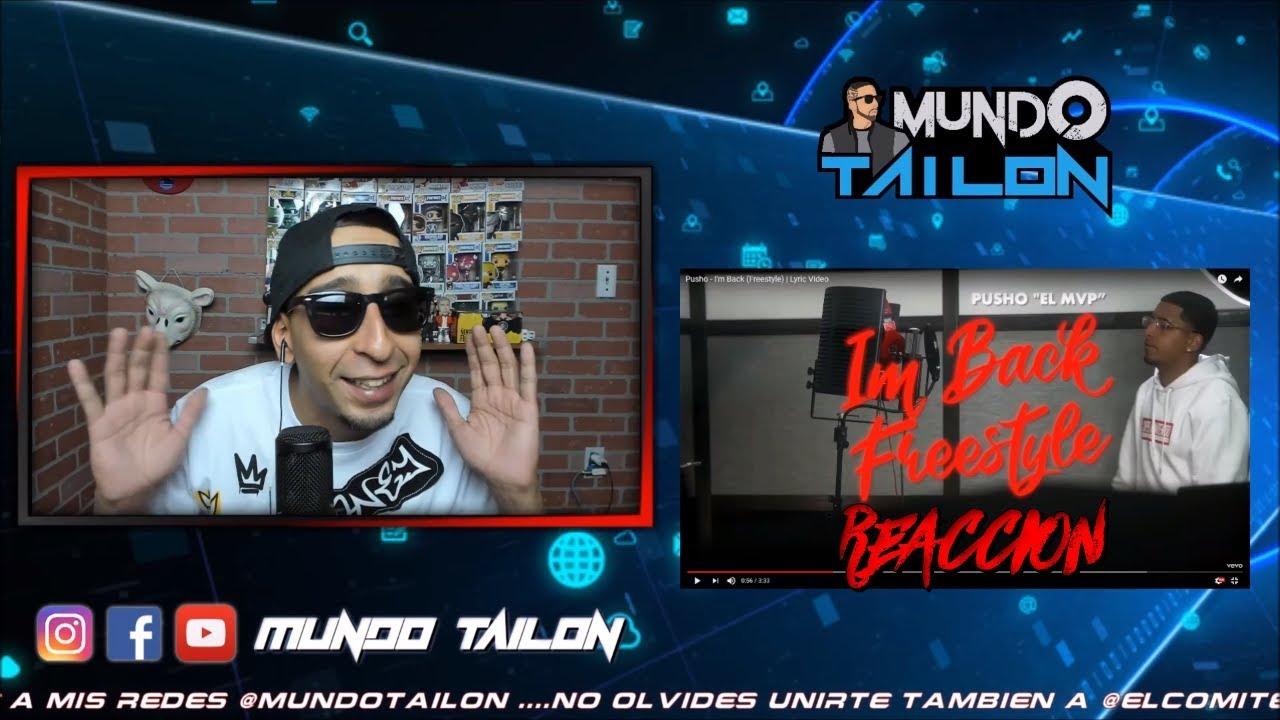 414b261f214 [Reaccion] Pusho - I'm Back (Freestyle) | Lyric Video