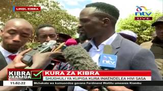 McDonald Mariga explains why he didn't vote for himself || #KibraByelection