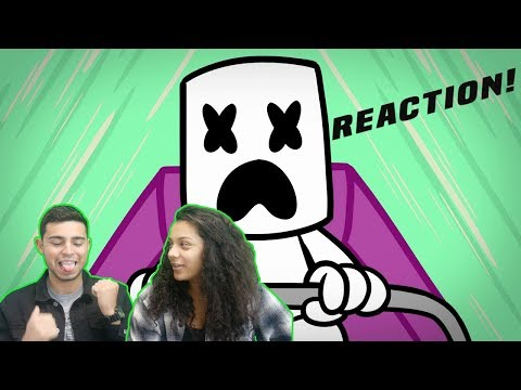 Marshmello - You & Me (Official Music Video) | REACTION