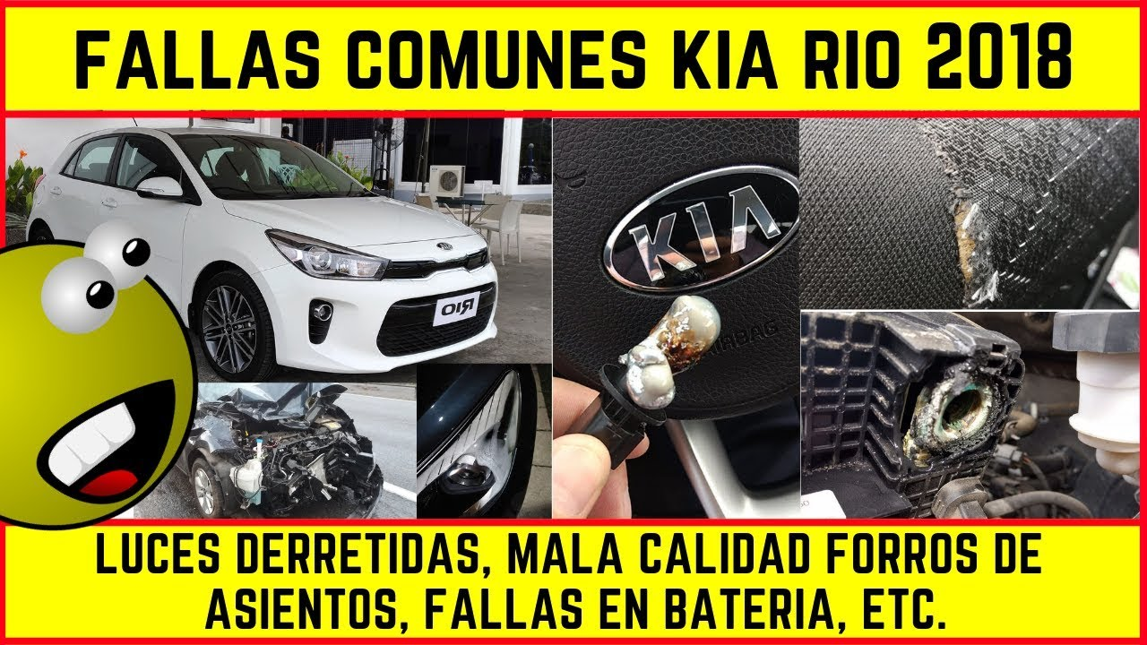 Fallas    Problemas Comunes Kia Rio 2018  Luces