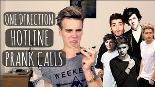 One Direction Hotline Prank Calls | ThatcherJoe