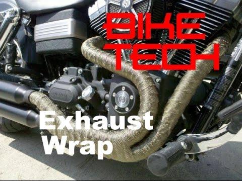 Exhaust Wrap - Good or Bad - Bike TEch