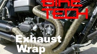 Exhaust Wrap - Good or Bad - Bike TEch